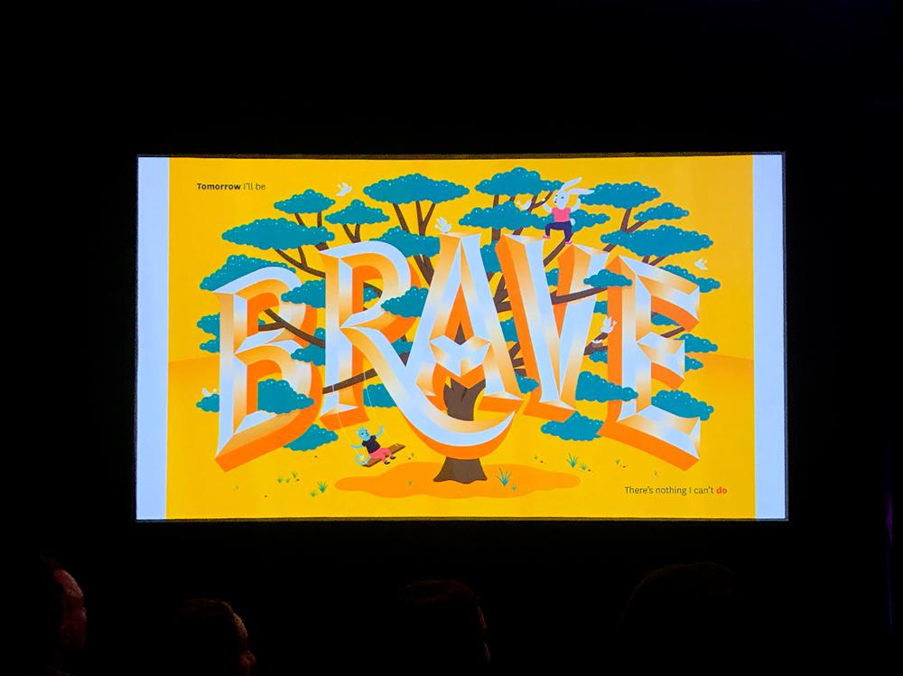 特別講演:Jessica Hische|子供の絵本- 明日は勇敢になります - をアニメーションでご紹介