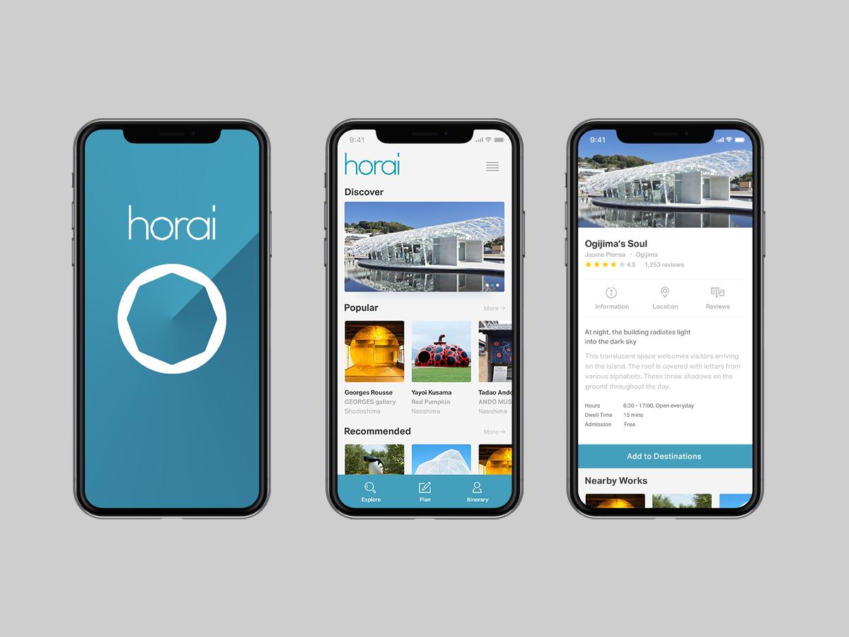 Horaiの新たなアプリのイメージ