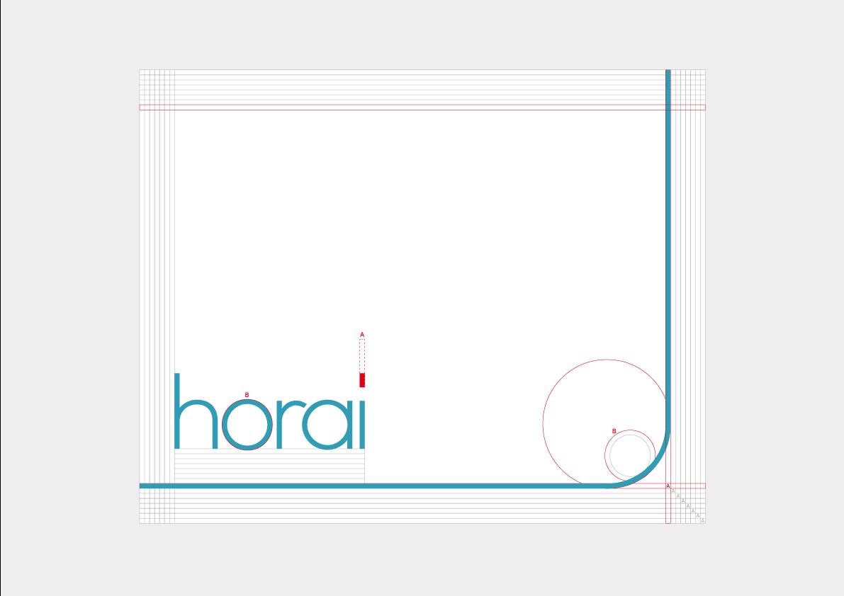 Horai新ロゴのフレームガイド