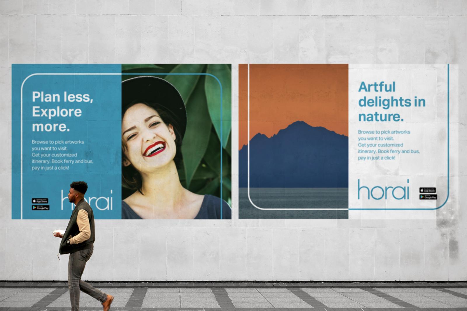 Horaiのポスターイメージ